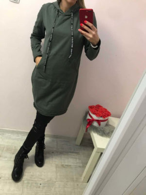 hosszú női pulóver