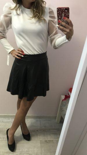 bőrhatású női szoknya