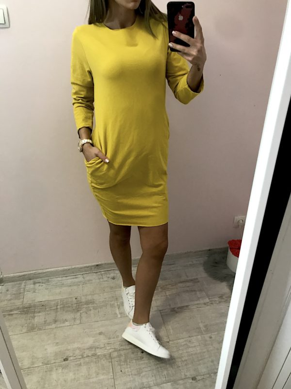 női zsebes ruha