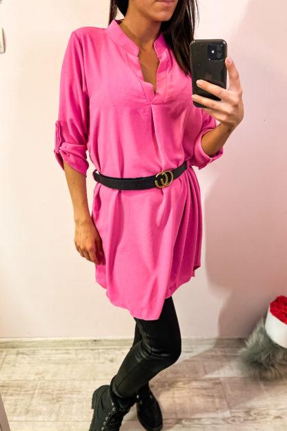 pink ruha övvel