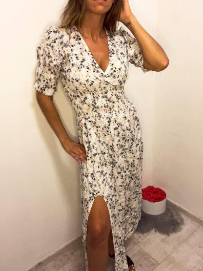 virágos maxi ruha