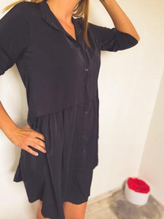 fekete szoknyás ingruha